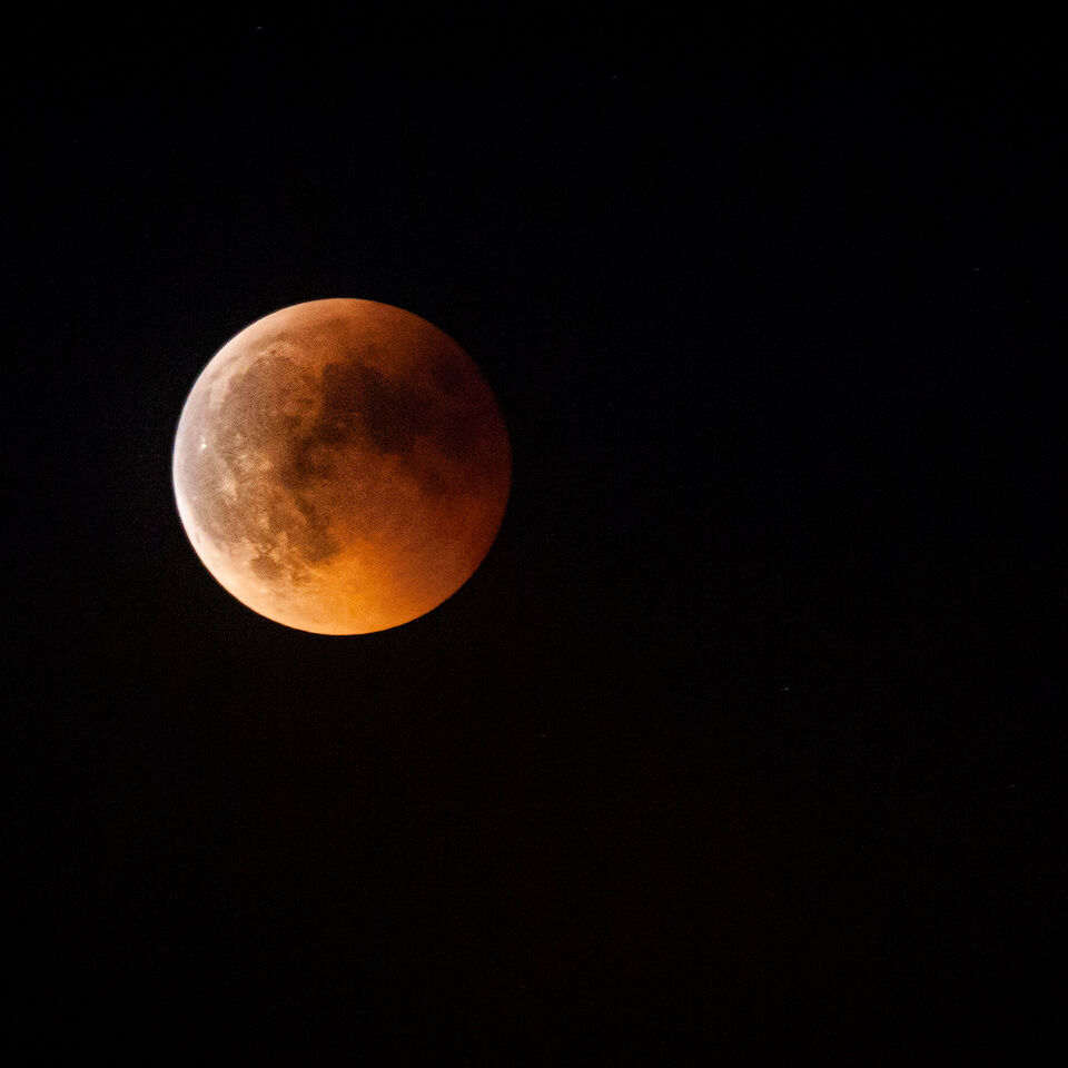 Total lunar eclipse Vienna 2011